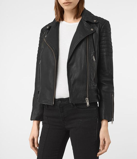 Papin Leather Biker Jacket