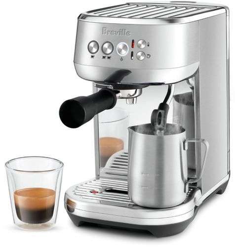 Breville The Bambino Plus Espresso Machine With Milk Frother Stainless Steel Espressoathome Breville The Ba Espresso Machine Coffee Machine Coffee Maker Espresso machine with milk frother