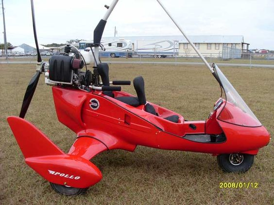 Ultralight aircraft capable of speeds of up to 90 miles per hour! Now it just needs to be enclosed to decrease wind chill.