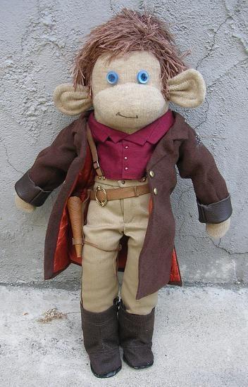 ... monkeys dolls and more sock monkeys captain my captain monkey sock