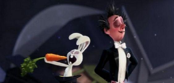 Alec Hazam, le lapin blanc, est affamé. Presto, le magicien, ne lui donne pas à manger avant le spectacle ce qui va lui jouer bien des tours. Alec refuse de sortir du chapeau et le magicien va se retrouver dans des situations délirantes...