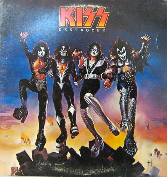 1970s, Album and Kiss on Pinterest A Day To Remember Old Record Album Cover