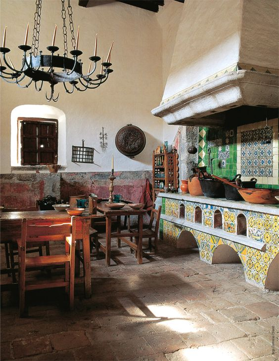 traditional mexican kitchen mexico pinterest stove