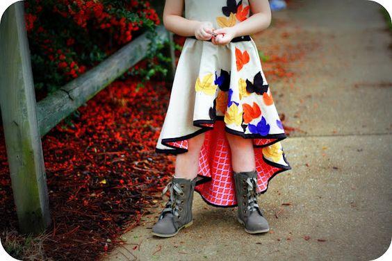 Fishtail skirt. Pattern instructions