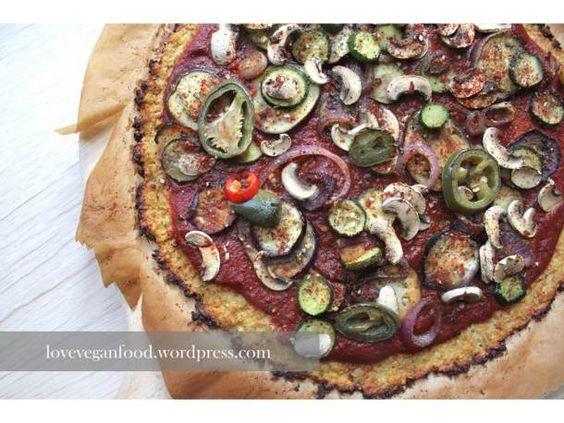 Low-Carb Pizzaboden mit Blumenkohl