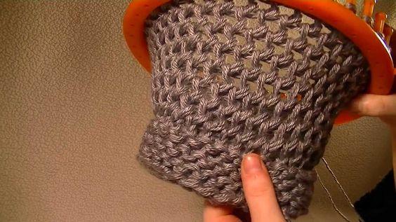 Round loom, Loom knitting and Loom on Pinterest