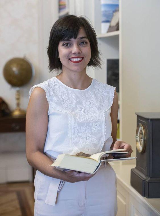 La investigadora Patricia Marín Cepeda.