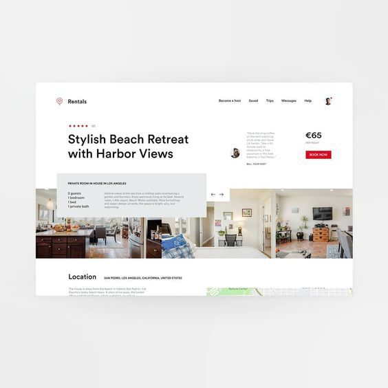 My Take On The Rental Business Link In Bio Dribbble Dribbblers Redesign Airbnb Booking B Web Design Quotes Web Design Services Web Design Company