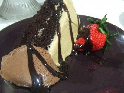 Chocolate Cappuccino Cake (gluten & dairy free)