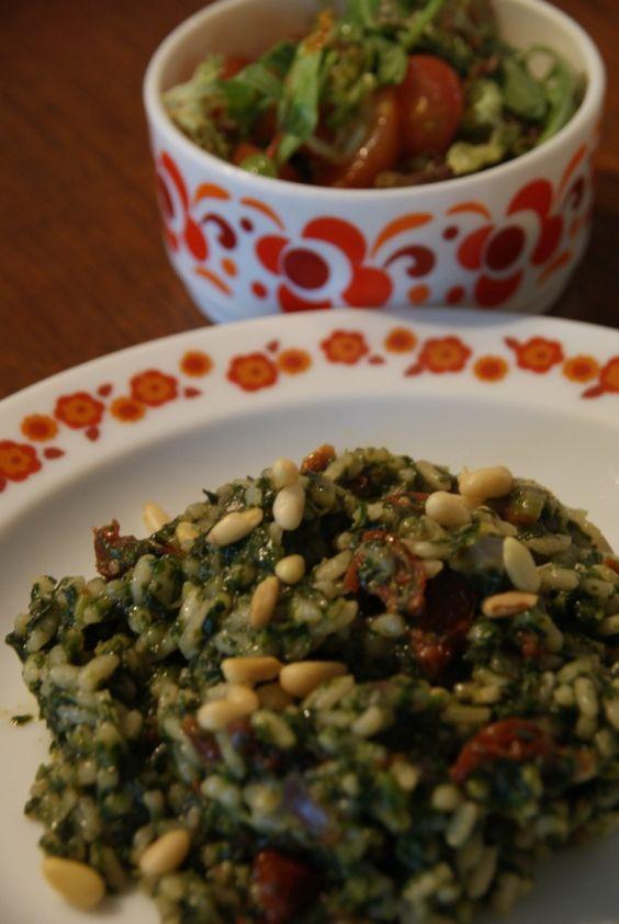 Risotto met spinazie    « De Groene Meisjes