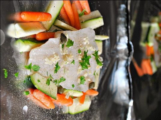 Quick Baked Cod Foil Packets  by SUZANNE on APRIL 1, 2012  in FISH,MAIN DISH