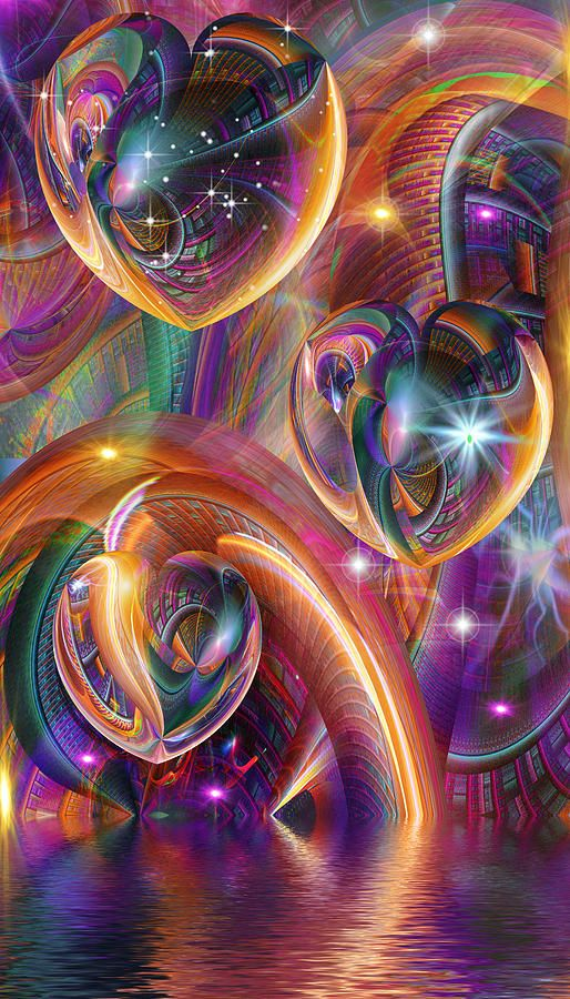 Grand Entrance Digital Art - four and three... Realized by Phil Sadler