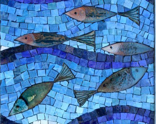 Enamel Fish (Detail)