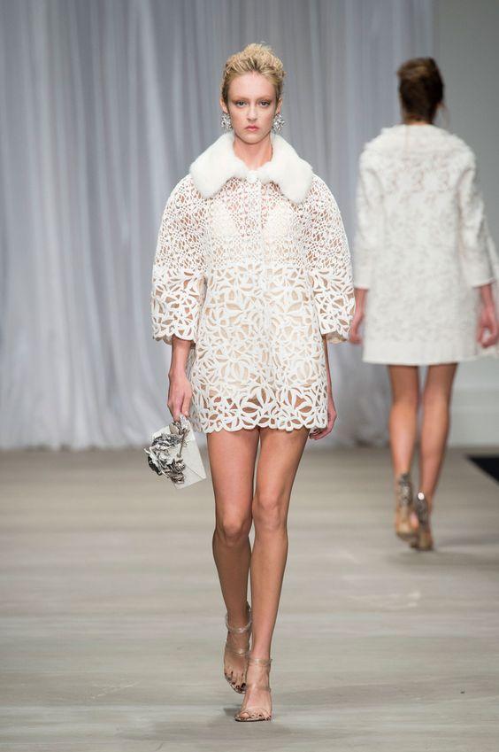 Défilé Ermanno Scervino, prêt-à-porter printemps-été 2015, Milan. #MFW #Fashionweek #runway