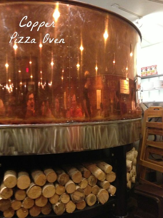 copper pizza oven