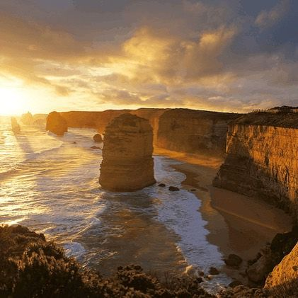 Great Ocean Road Australia - www.tbfti.com - Not all roads are created equal. The great ocean road is one of the worlds most scenic coastal roads. The awesome limestone cliffs and incredible rock formations such as the 12 apostles are surrounded by iconic Australian surf breaks and wildlife what else do you need? Photo credit - Quinn Chow by thebestfkntravelideas http://ift.tt/1KnoFsa