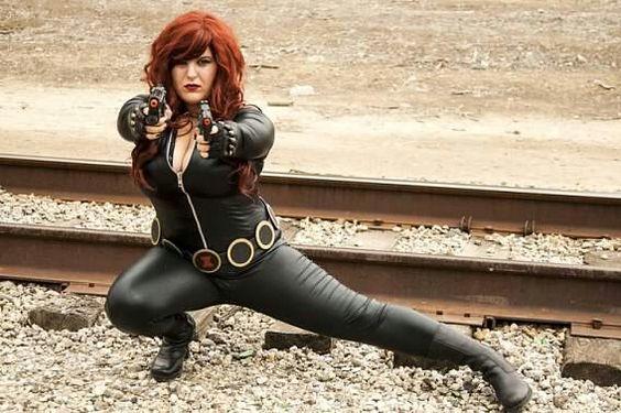 Black Widow, Symbiotekitty Cosplay