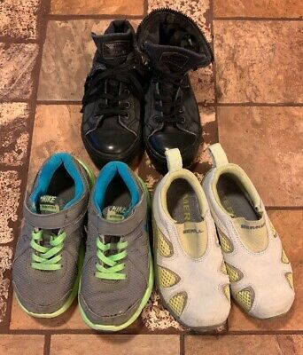 Advertisement Ebay Lot Of 3 Toddler Boy Shoes Size 10 10 5 Merrell Nike Levis Toddler Boy Shoes Boy Shoes Baby Shoes