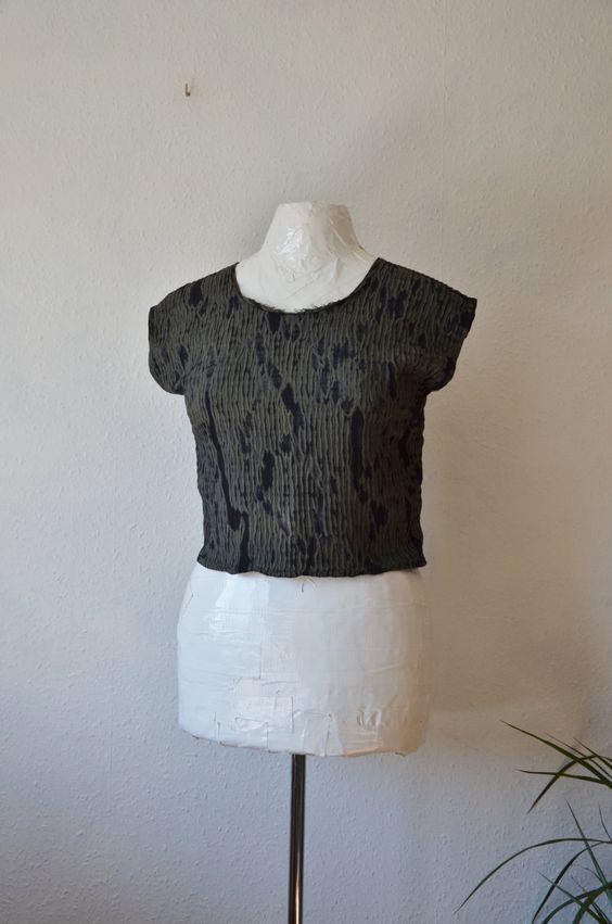 Shibori blouse - Ethical Life Store.