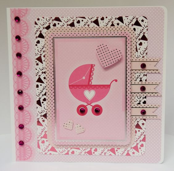 6 x 6 card made by Sue Dinsdale using Kanban Everyday Collection
