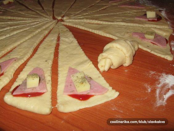 PIZZA KIFLICE   Recepti za vas