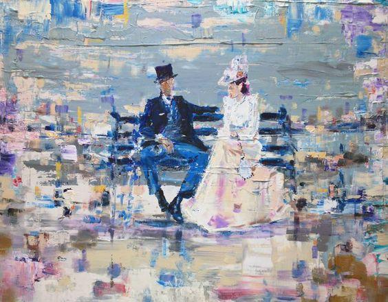"Saatchi Art Artist OSCAR ALVAREZ; Painting, ""SC-1"" #art"