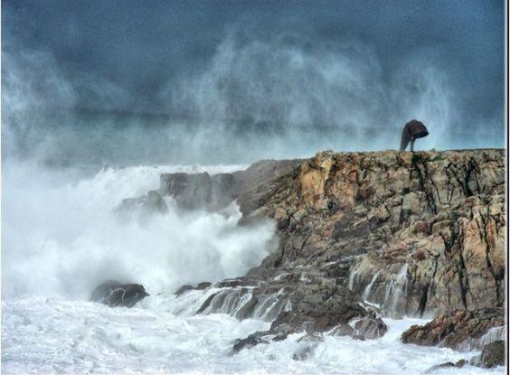 Caracola de punta Herminia, A Coruña