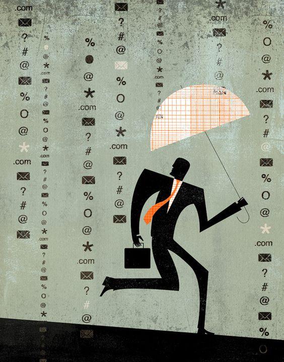 Information storm - Dante Terzigni