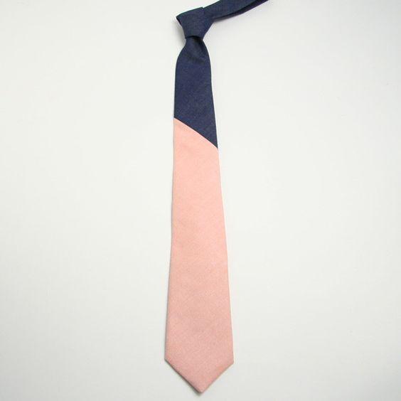 Colour block tie / General Knot & Co.
