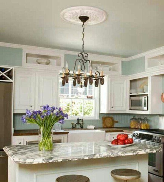 10 Kitchen Cabinets To Ceiling: 10 Ways To Disguise A Kitchen Soffit
