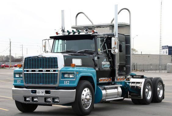 Ford Louisville Ltl9000 Prime Mover U S A Big Trucks Trucks Big Rig Trucks