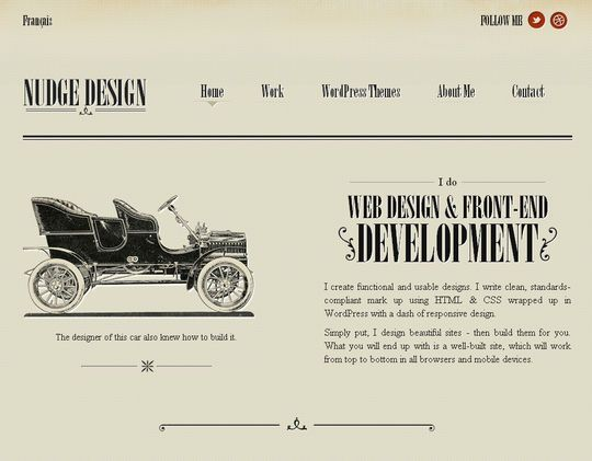 Retro And Vintage 44 Classy Examples Of Web Designs Smashingapps Com Retro And Vintage In 2020 Vintage Web Design Vintage Website Design Squarespace Web Design