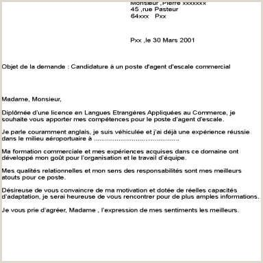 Exemple De Cv Hotesse Daccueil Standardiste Motivation Types Of Resumes Resume