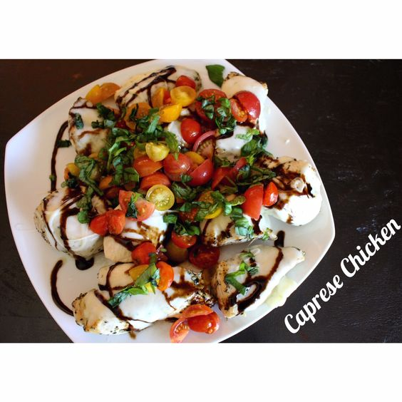 I love Caprese Salad and I am always looking for new creative ways to make chicken dishes. So here is a fun combo when you take the ingredients of the…