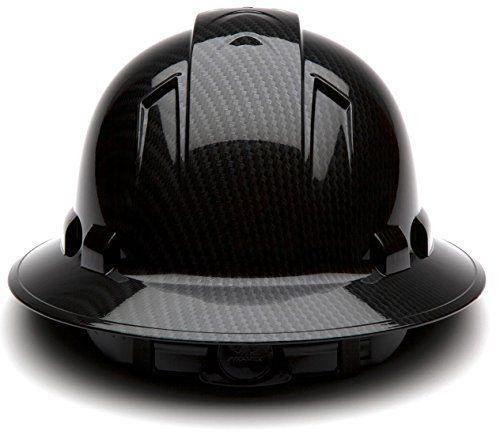 Pyramex Safety Ridgeline Graphite Pattern Full Brim Hard Hat