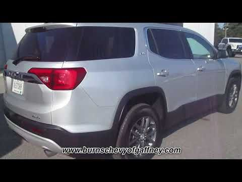 Used 2019 Gmc Acadia Slt At Burns Chevrolet Of Gaffney Used