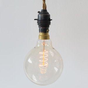 Globe Spiral Bayonet Bulb