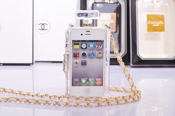 Chanel Perfume phone case for iPhone 4S/5S & Samsung S4/S5 - Free Shipping