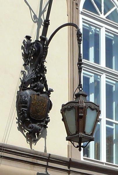 Praha - pouliční lucerny