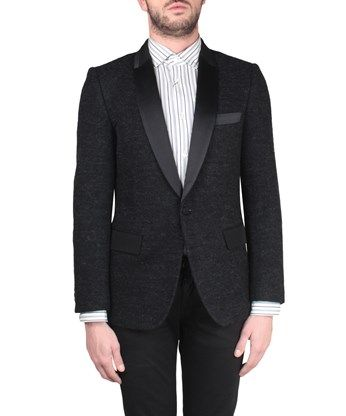 JUNYA WATANABE Giacca blazer cotone e mohair. #junyawatanabe #cloth #mohair