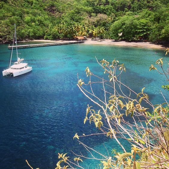 #Madinina vue par @ma_evalb: Anse noire entre copines   #crique #plage #mer #bluesea #tropique #martinique #nature #boat #bateau #palmiers #paradis #soleil #voyage #tranquilite #naturelovers #naturephotography #beach #playa #bronzer #bontemps #beautiful #beautifulplace #WeLike ! A voir sur Instagram : http://ift.tt/1UkzD3n