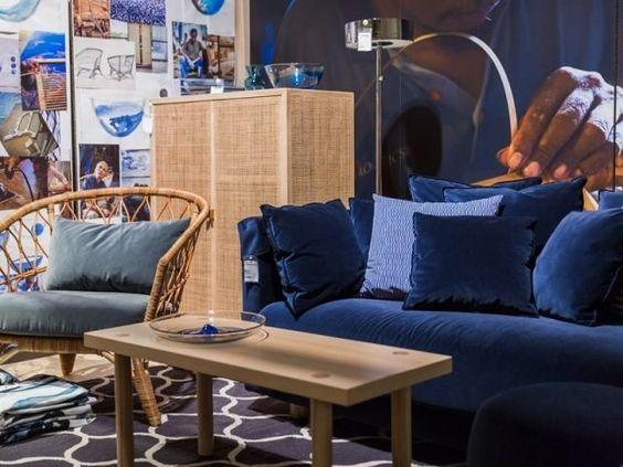 ikeas nya kollektion stockholm 2017 lanseras i april schlyters pinterest stockholm ikea. Black Bedroom Furniture Sets. Home Design Ideas