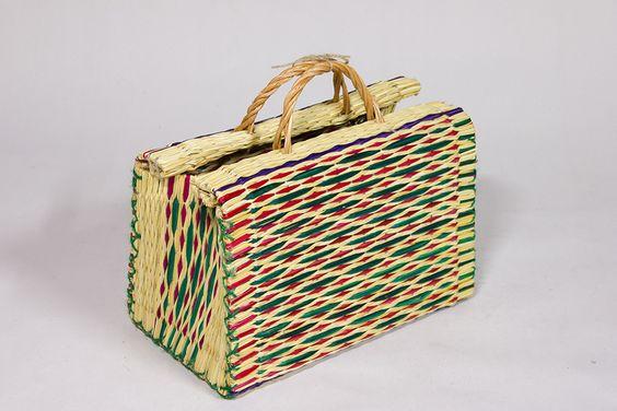 Picknick Korb - gibt's bei DaWanda