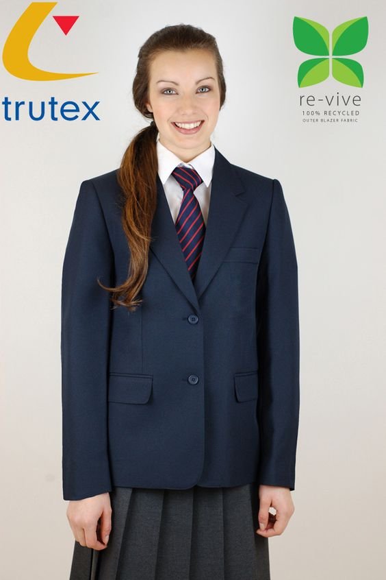 The Trutex Girls Contemporary Jacket is tailored to exceptional quality with innovative and contemporary styling, as suggested in the name! Trutex have excelled themselves to ensure that their Girls Contemporary Jacket is of exceptional tailoring as well as featuring a shaped waist. As an essential School Uniform item, the Trutex Girls Contemporary Jacket features three internal zip pockets, a chest pocket and flap hip pockets.