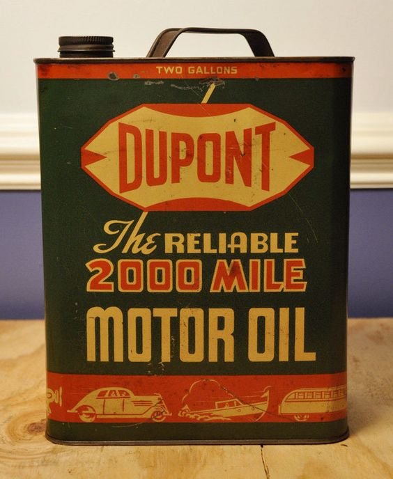 Typographical Oil Can Inspiration
