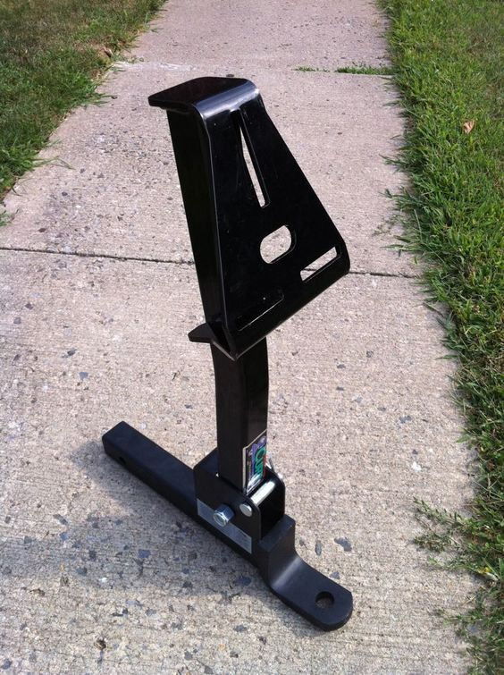 Trailer Hitch Spare Tire Carrier | for the carrier arm ...