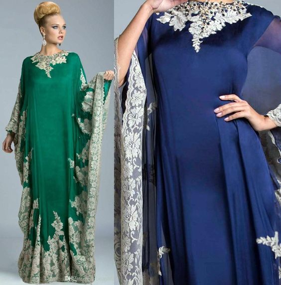 2016 Dubai Caftans Kaftan Abayas Muslim Evening Dresses Wear Embroidery Plus Size Evening Dresses Islamic Clothing Evening Dresses For Larger Ladies Evening Dresses For Teens From Gonewithwind, $188.49| Dhgate.Com