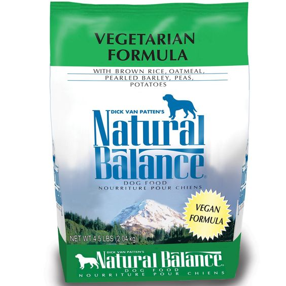 Natural Balance Vegetarian Formula Dog Food 4 5 Lbs Dry Dog