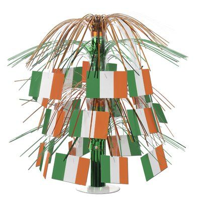 Irish Flag Mini Cascade Centerpiece St Patricks Day Party Decoration