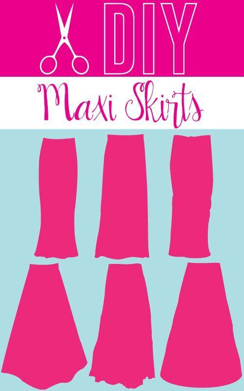 diy maxi skirt maxi skirts and maxis on